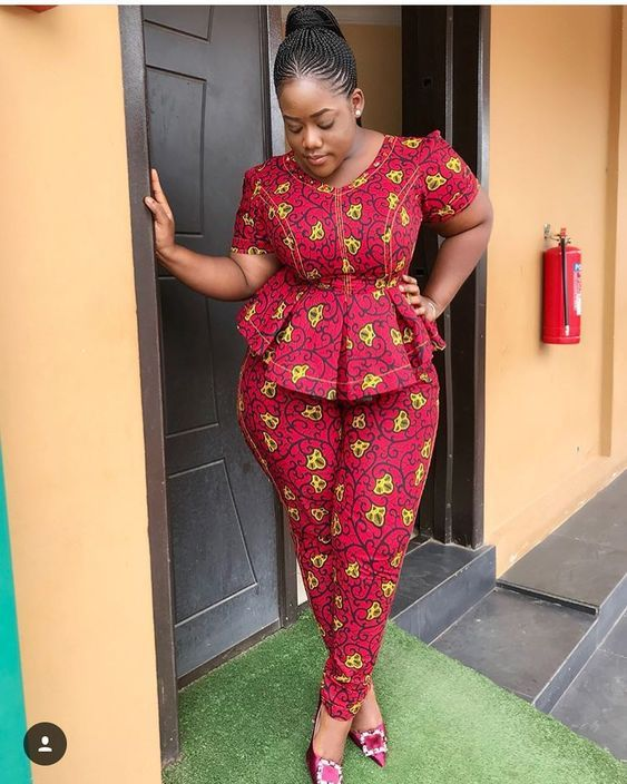 30 Stunning Ankara Top and Trouser Styles For Super Ladies